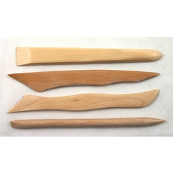 Wooden Modelling Tool Kit
